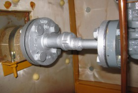 蒸気配管交換