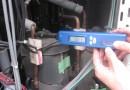 室外機吐出管温度測定